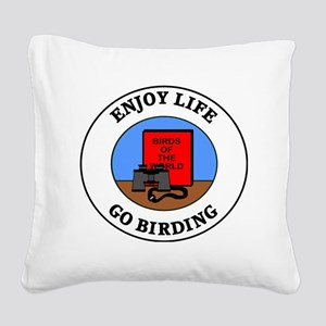birding1 Square Canvas Pillow