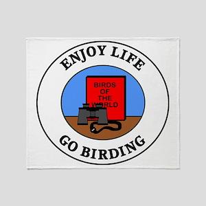 birding1 Throw Blanket