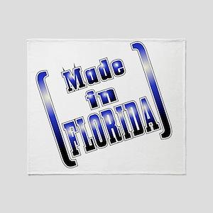 made_FLORIDA_T Throw Blanket