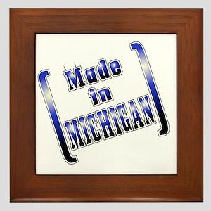 made_MICH_T Framed Tile