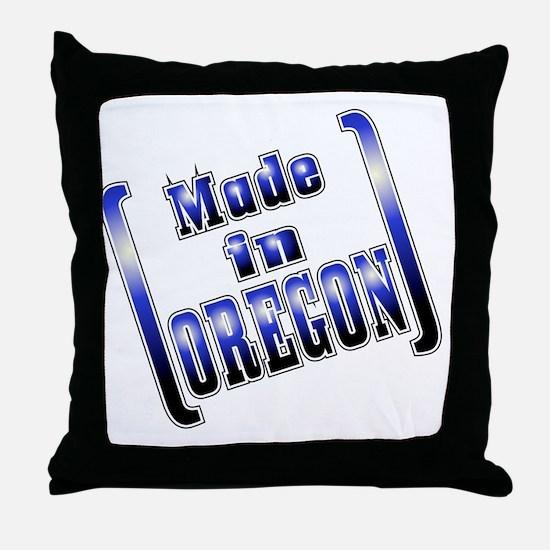 made_OREGON_T Throw Pillow