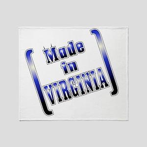 made_VIRGINIA_T Throw Blanket