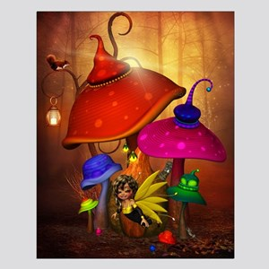 Fairy Forest Small Poster