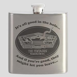 Pentagon_Joke Flask