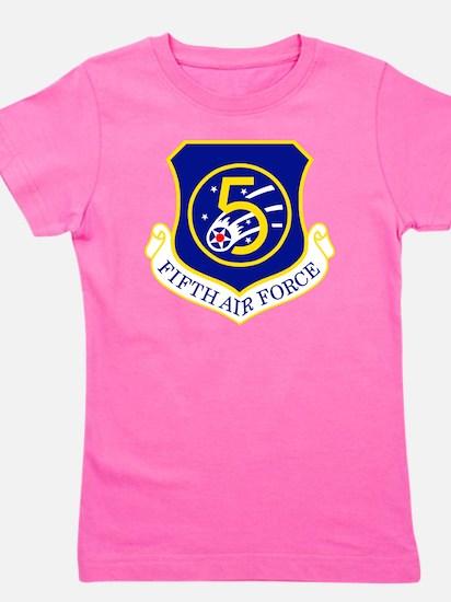 USAF-5th-AF-Shield Girl's Tee