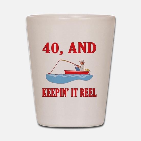 reel40 Shot Glass