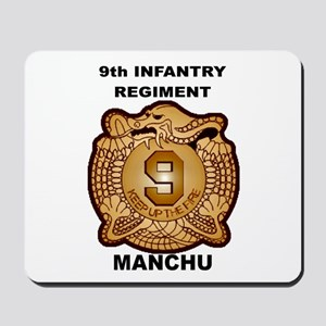 9th Infantry Regiment Manchu Mousepad