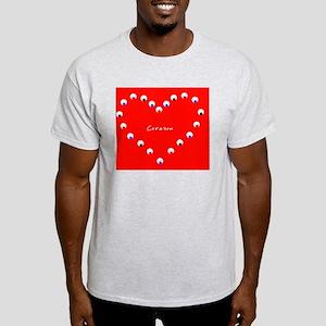 Corazon Heart Spanish Valentines Day Light T-Shirt