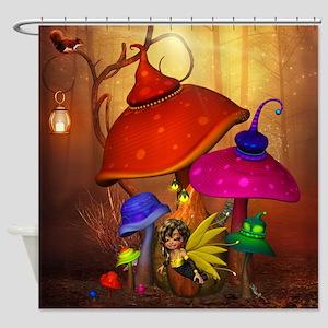 Fairy Forest Shower Curtain