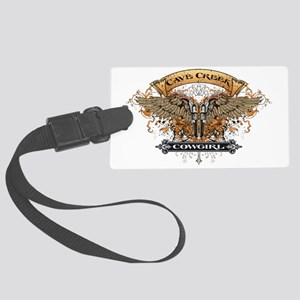 Cave Creek Cowgirl Design Large Luggage Tag