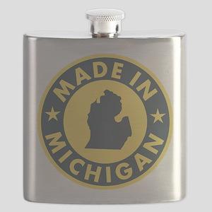 2-Made-In-MICHIGAN Flask