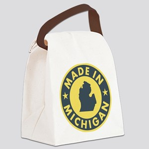 2-Made-In-MICHIGAN Canvas Lunch Bag