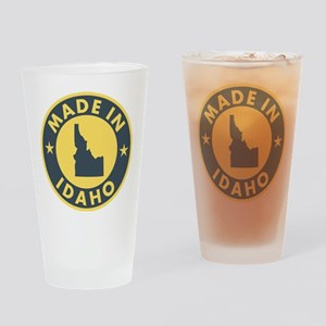 Made-In-IDAHO Drinking Glass