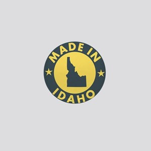Made-In-IDAHO Mini Button