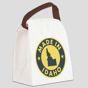 Made-In-IDAHO Canvas Lunch Bag