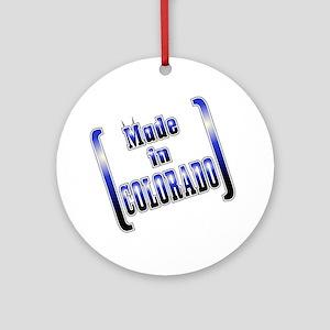 made_COLO_T Round Ornament