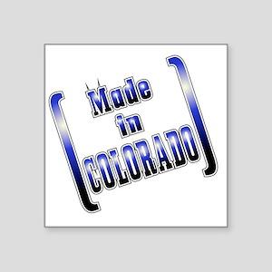 """made_COLO_T Square Sticker 3"""" x 3"""""""