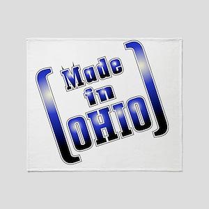 made_OHIO1_T Throw Blanket
