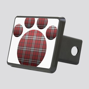 Plaid Paw Rectangular Hitch Cover