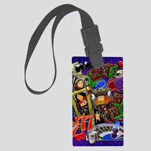 Royal Flush Games of Skill and c Large Luggage Tag