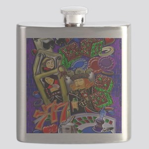 Royal Flush Games of Skill and chance 7.75 x Flask