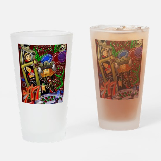 Royal Flush Games of Skill and chan Drinking Glass