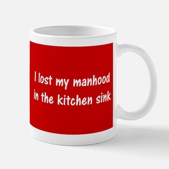 I Lost My Manhood Mug