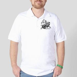 2-rhodes_knight_t_shirt Golf Shirt