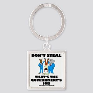 steal-light Square Keychain