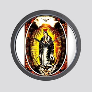 Virgin of Guadalupe Wall Clock