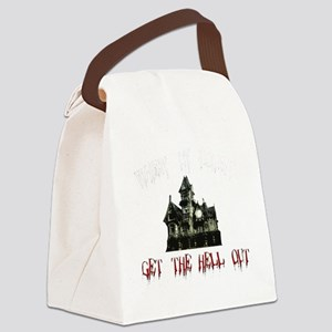 2-GetOutB Canvas Lunch Bag
