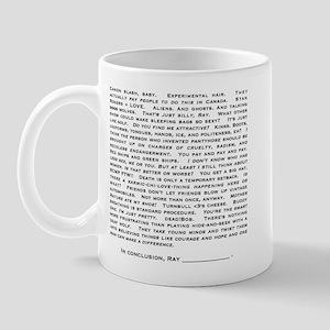 leaf list Mugs