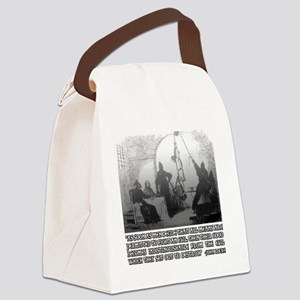 John Locke on The Ends and the Me Canvas Lunch Bag