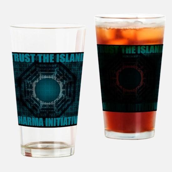 ISLAND Drinking Glass
