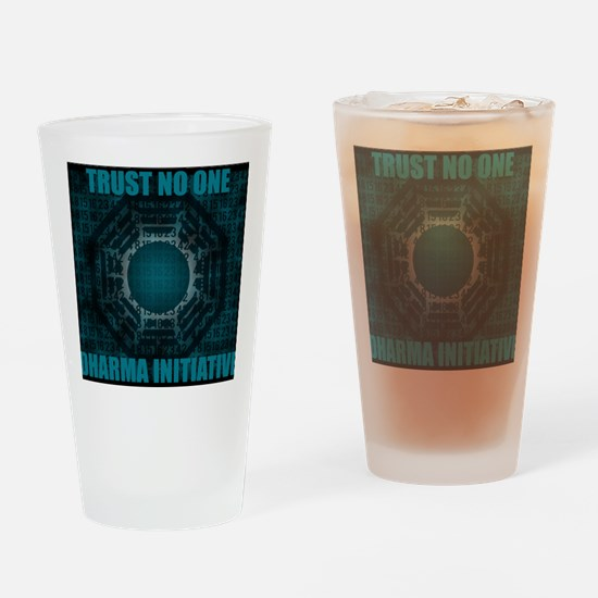NO ONE Drinking Glass