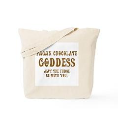 Chocolate Goddess Tote Bag