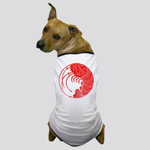 Spiny lobster circle Dog T-Shirt