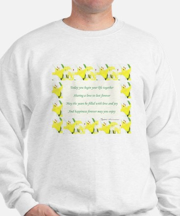 WeddingPoem Sweatshirt