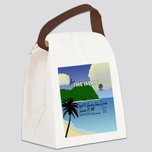 travelposter3 Canvas Lunch Bag