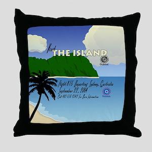 travelposter3 Throw Pillow