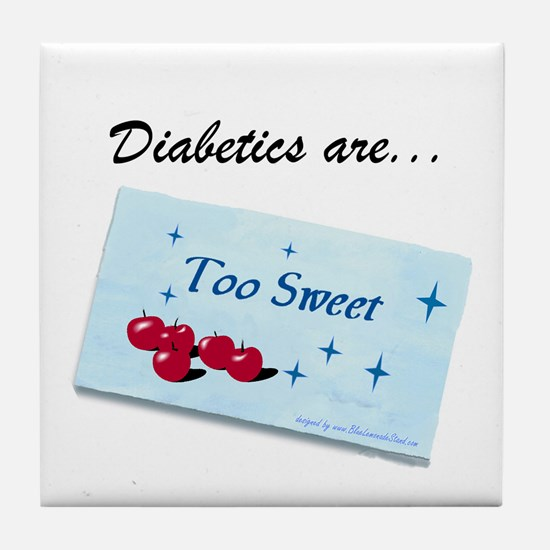 Diabetics Tile Coaster