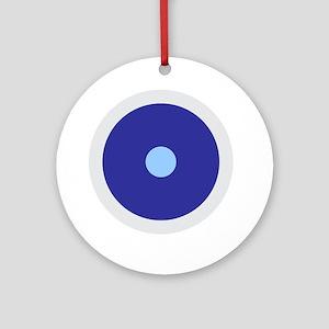 Cancer Aquarius Libra Round Ornament