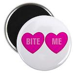 Bite Me Hearts Magnet