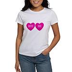 Bite Me Hearts Women's T-Shirt
