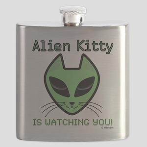 2-AlienKitty-IsWatching Flask