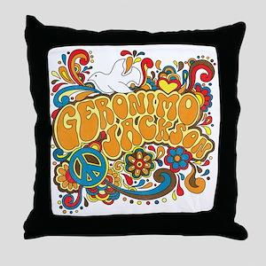 2-geronimogroovy Throw Pillow