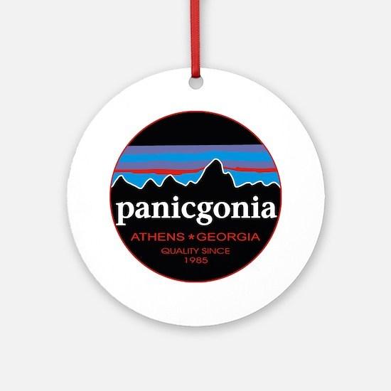 PANICGONIA Round Ornament