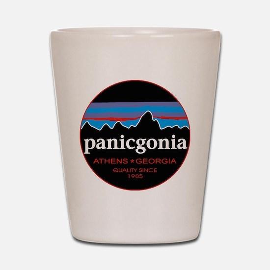 PANICGONIA Shot Glass