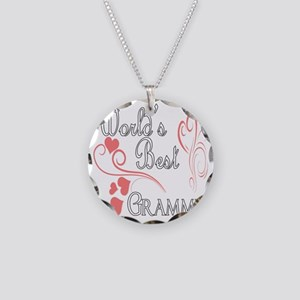 Hearts Grammy copy Necklace Circle Charm