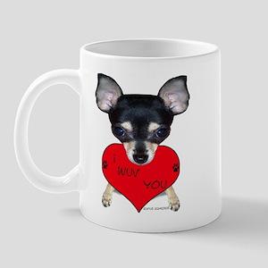 Chihuahua Valentine Mug